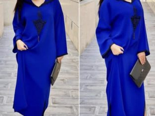 Djellaba mlifa blue royal different taille
