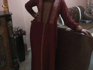 Djellaba marocaine mlifa avec randa